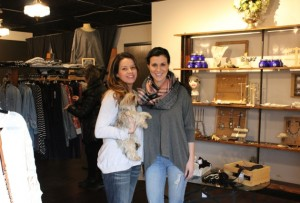 Refine Fashion House designer and buyer Tina Schulze (l) and owner Leslie Lee. Photo by Michelle Bruch