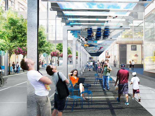 "The ""Light Walk"" planned for Nicollet Mall. File image"