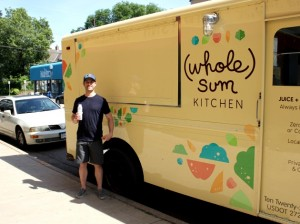 Evan Tepper, owner of Whole Sum Kitchen.
