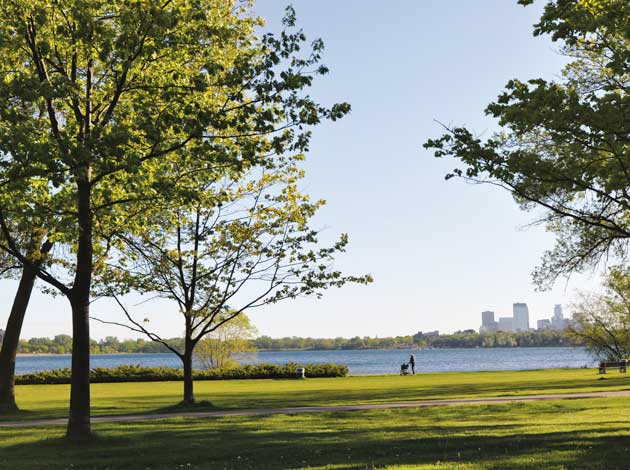 "Lake Calhoun has earned an ""A"" in a recent water quality report. File photo"
