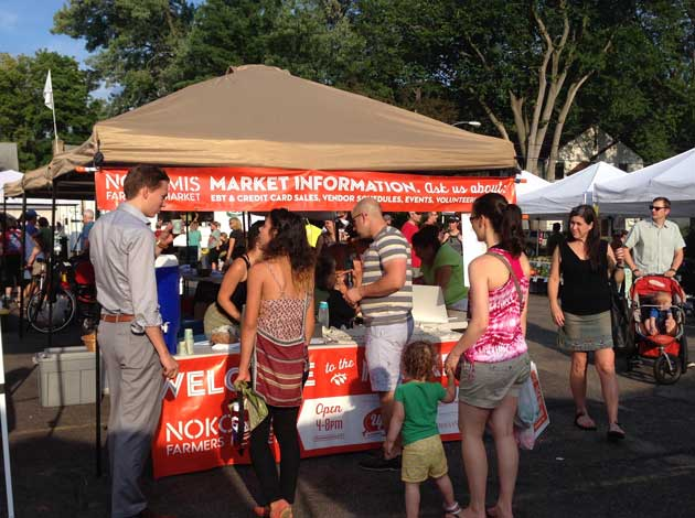 The Nokomis Farmers Market. Submitted photo