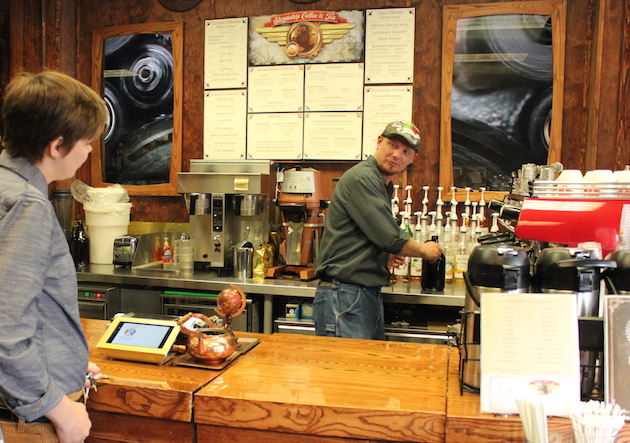 Stephen Gifford manages Steamship Coffee & Tea.