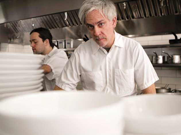 Tilia chef Steven Brown. File photo