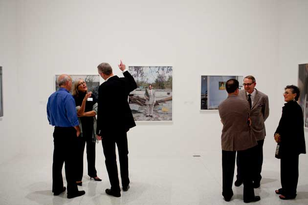 Patrons at the Walker Art Center. Photo courtesy of Meet Minneapolis
