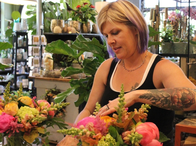 Brown & Greene owner Lyn Williams. Photo by Michelle Bruch