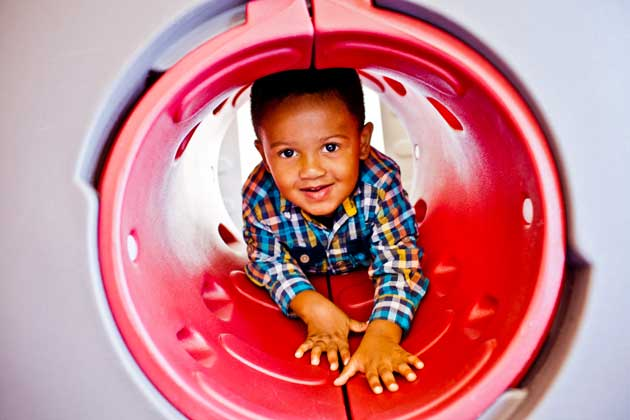 At the Greater Minneapolis Crisis Nursery, kids experiencing crisis and trauma have the opportunity to play and explore in a safe environment. Photo courtesy Greater Minneapolis Crisis Nursery