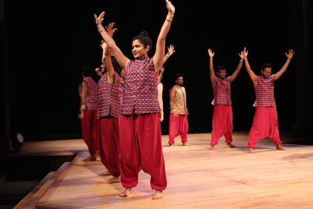 Bollywood Dance Scene electrified the audience at this year's first Minnesota Fringe Festival preview.