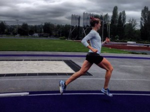 Jamie Cheever trains at the University of Washington. Submitted photo