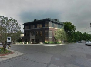The City Council approved plans in 2015 for an office and retail building at 44th & Upton.