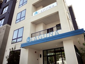 The Laguna apartments are now open at Lagoon & Irving. Submitted photo