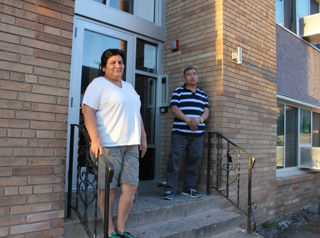 Tenants said they hope to remain living at 3057 14th Ave. S., an apartment building where Hennepin Housing Court ordered repairs.