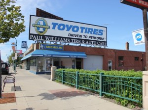 Paul Williams Tire & Auto closed in August, thanking customers for 50 years of service.