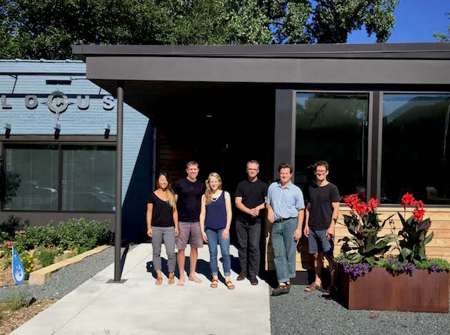 Locus Architecture staff designed their building at 4453 Nicollet Ave. Submitted photo