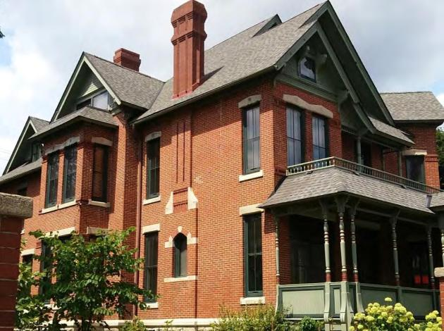 The Coe Mansion. Image courtesy of city of Minneapolis