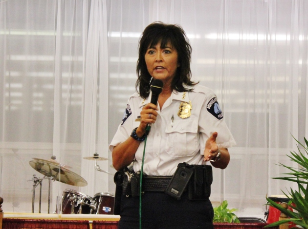 Police Chief Janeé Harteau. File photo