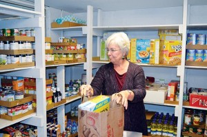 Uptown Food Shelf volunteer