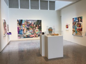 An installation view of Samual Weinberg's work for the Jerome Fellowship Exhibition at the Minneapolis College of Art and Design. Submitted image
