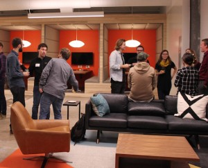 Zeus Jones hosted an open house in late September to showcase the new Nicollet Avenue office. Photo by Michelle Bruch