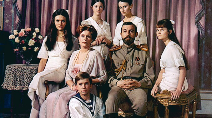 "The family of Czar Nicholas II as depicted in the 1971 film ""Nicholas and Alexandra."" Submitted image"