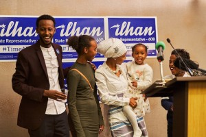 Ilhan Omar's election to the state House went against the national tide. Submitted image