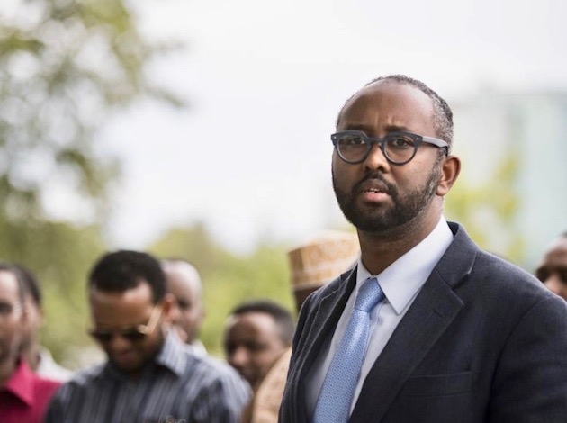 "Jaylani Hussein, executive director of the Minnesota chapter of the Council on American-Islamic Relations, issued a statement after the election, saying that his organization will be at the forefront of ""challenging Islamophobia and Islamophobic networks wherever they are."" Photo courtesy CAIR-MN"