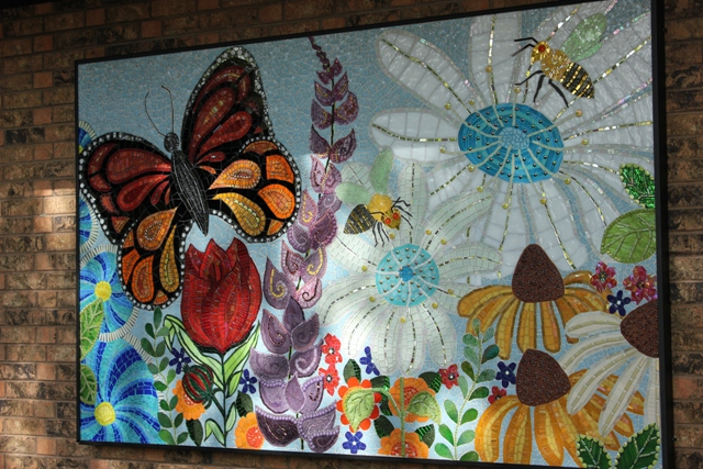 Bryant square park unveils community mural southwest journal for Community mural project