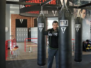Steven Coopersmith, franchisee owner and operator at TITLE Boxing Club.