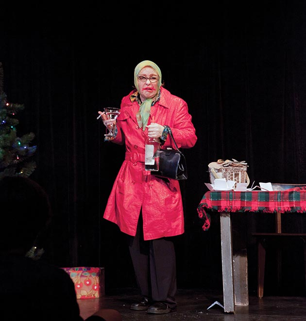 Janelle Ranek as Gloria, a fan-favorite character from her annual holiday show at Bryant-Lake Bowl. Submitted image