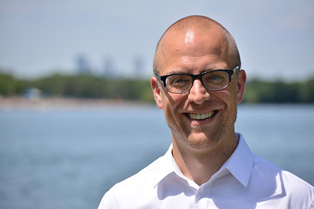 Jeremy Schroeder plans to run for the Ward 11 seat on the City Council in 2017. Submitted photo