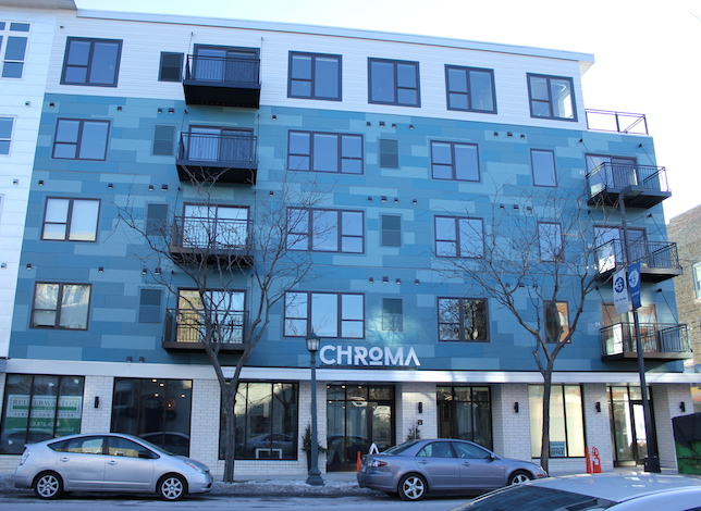 The Chroma apartments are now open at 26th & Stevens.