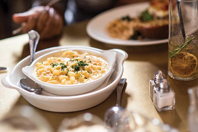 Macaroni & cheese is available as a side dish at the new Cafe Alma. Submitted image