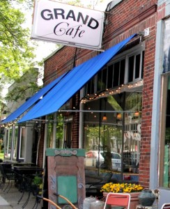 Grand Cafe is transitioning to new ownership at 38th & Grand.