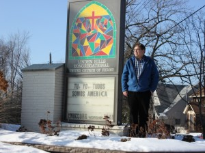 Linden Hills United Church of Christ, with Pastor Eliot Howard, is offering shelter to undocumented immigrants. Photo by Michelle Bruch