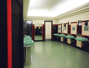 The fourth-floor women's restroom of the former Dayton's department store on Nicollet Mall is a hidden gem — hidden from men, at least. Photo by Linda Koutsky