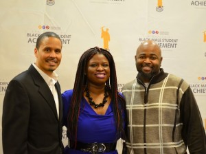 Michael Thomas, Nekima Levy-Pounds and Jason Sole