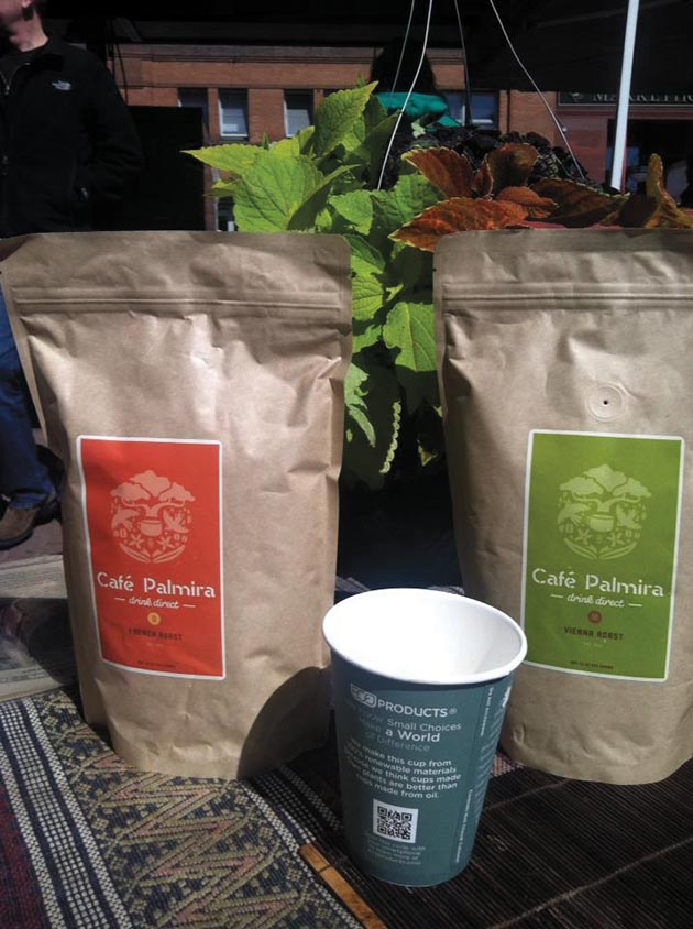 Café Palmira's beans are sourced from Guatemala. Submitted photo