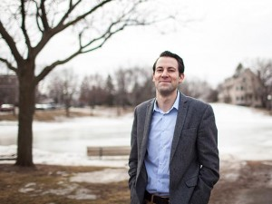 Nonprofit fundraiser Adam Faitek launched a bid to win the DFL endorsement in Ward 13 over incumbent Linea Palmisano. Submitted photo