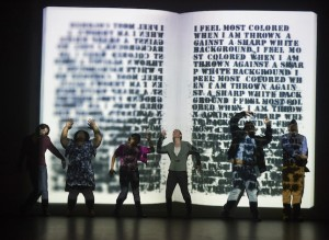 "The Frank Theatre production ""Citizen"" at Intermedia Arts explores the manifestations of racism today. Photo by Tony Nelson"