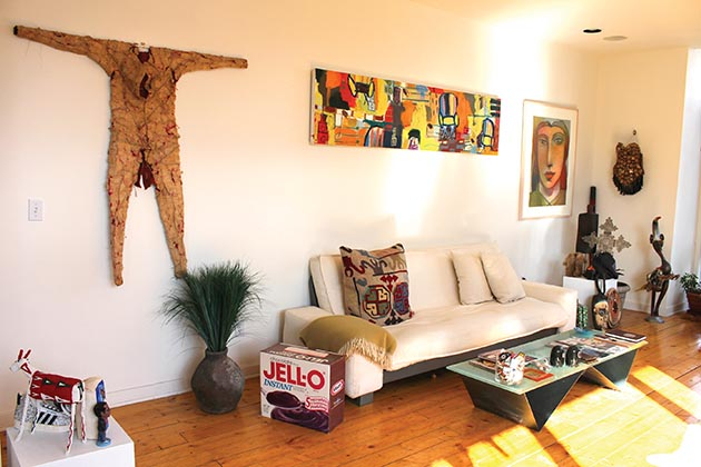 Robyne Robinsonu0027s Art Collection Decorates Her Southwest Minneapolis Condo.  Photo By Jahna Peloquin