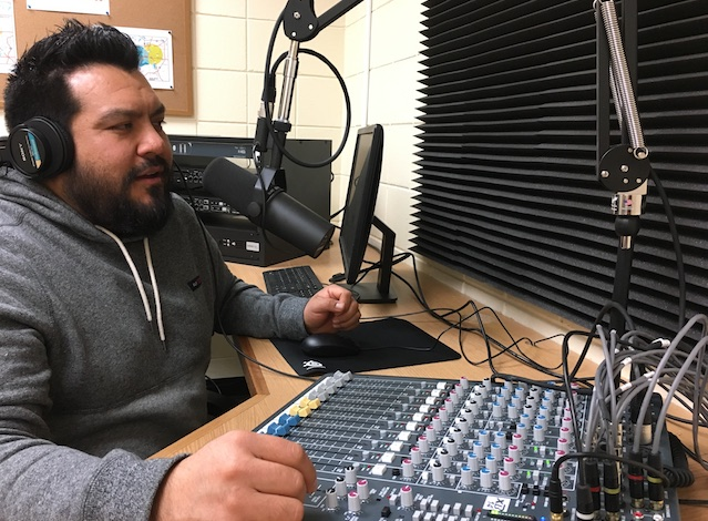 "Felipe Illescas, host of the new show ""Power of Phillips"" at Southside Media Project, explains how complicated policies impact families' lives. Submitted photo"