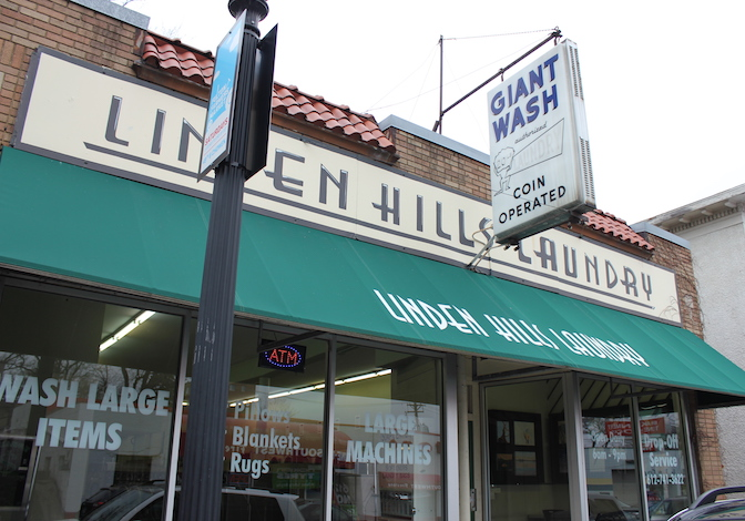 Linden Hills Laundry now offers drop-off service and space for artwork.