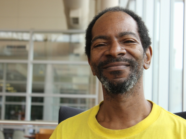 """The best thing you can give anybody is a smile and a wave…their humanity,"" says Robert Wright, who was homeless a decade ago."