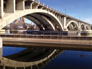 The Third Avenue Bridge over the Mississippi River. Photo by Susan Schaefer