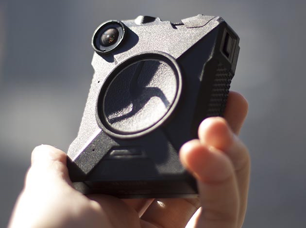 The MPD uses Taser's Axon Body 2 camera. Photo courtesy Taser