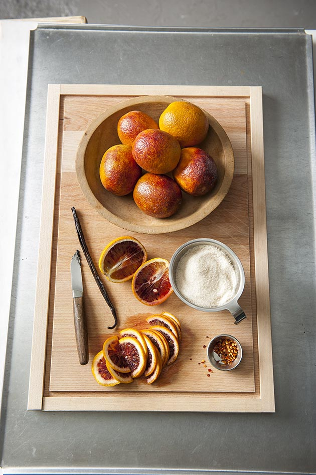 The ingredients for Nielsen's blood orange marmalade. Submitted image