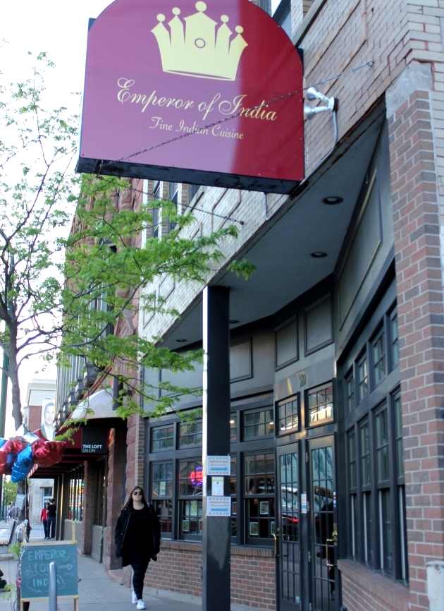 Emperor of India is located in the storefront formerly home to Prairie Dogs and The Gray House.