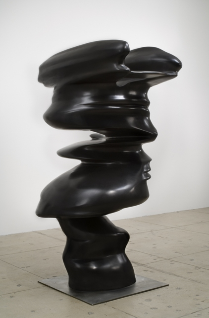 """Level Head"" by Tony Cragg is a new acquisition at the Sculpture Garden. Photo courtesy of Walker Art Center © Artists Rights Society, New York VG Bild-Kunst, Bonn"