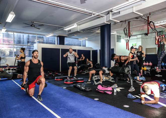 F45 Training, an Australia-based fitness studio, opens in July in the former Midas building on Lyndale. Submitted photo