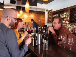 Longtime Café Maude General Manager Todd Staberg (at right) says it's time for him to move on. Photo by Michelle Bruch