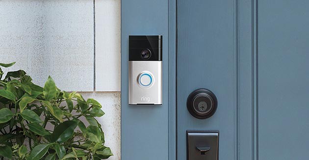 "Gadget Guy said the Ring Video Doorbell was ""the product I didn't know I wanted or needed,"" but he came away impressed after an at-home test. Photo courtesy Verizon Wireless"